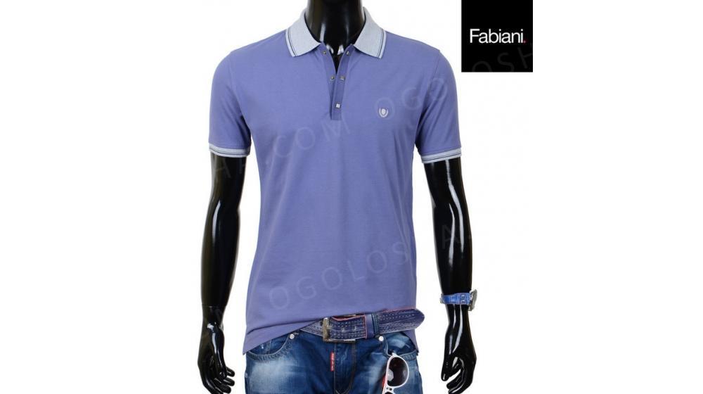 Стильная мужская футболка Fabiani