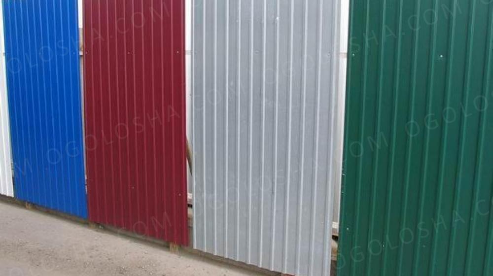 Профнастил стеновой в ассортименте по цене производителя от 79грн.