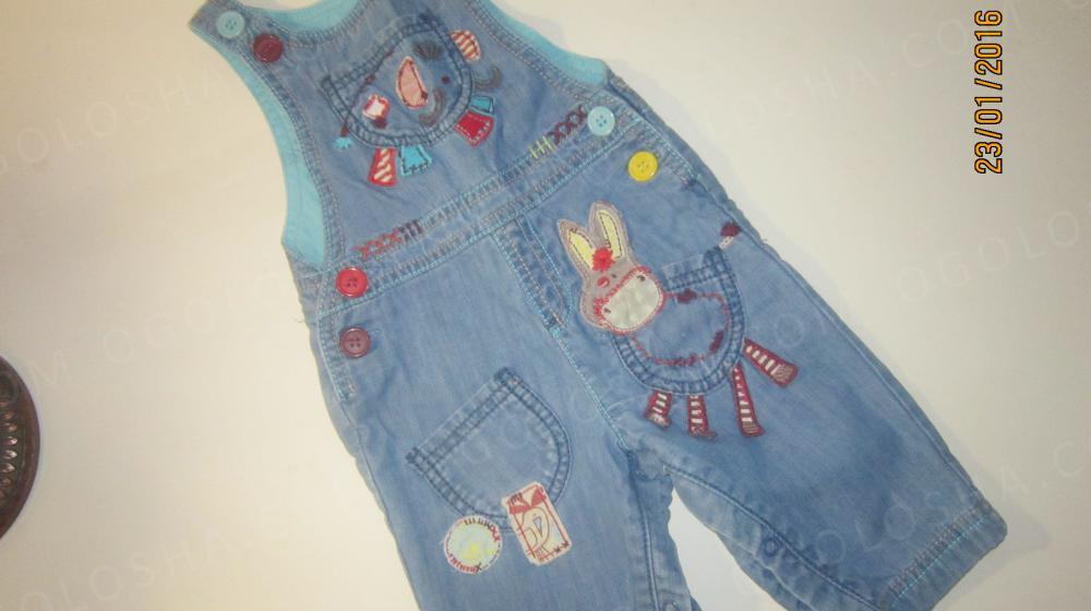 Продам джинсовый комбинезон NEXT