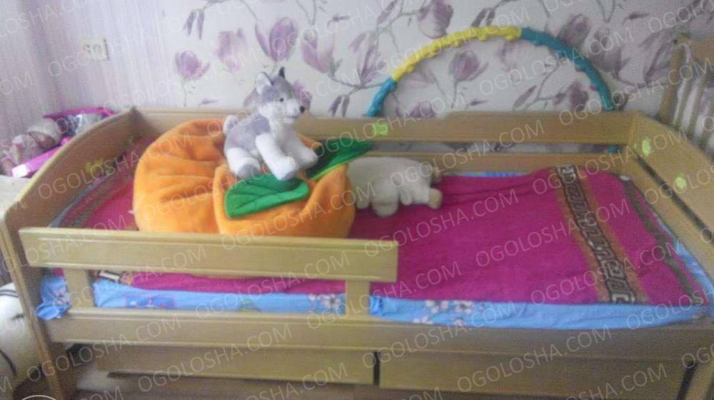 Кровать из ольхи