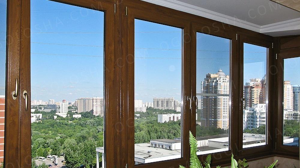 Остекление балконов алюминиевым профилем provedal в долгопру.