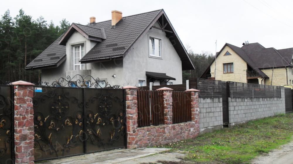 Продается отличный дом на опушке соснового леса, 20 мин от Киева