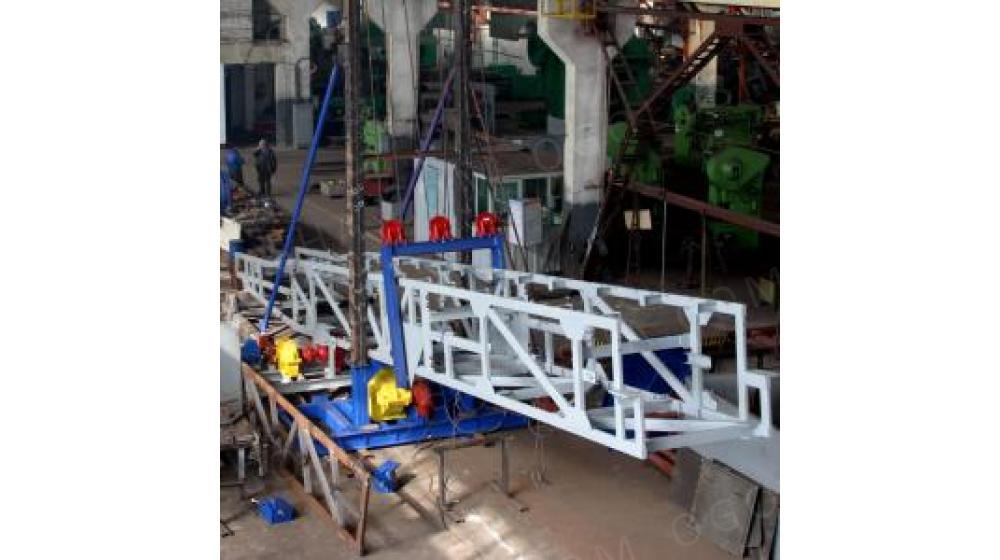 Конвейер ленточный передвижной – судопогрузочная машина
