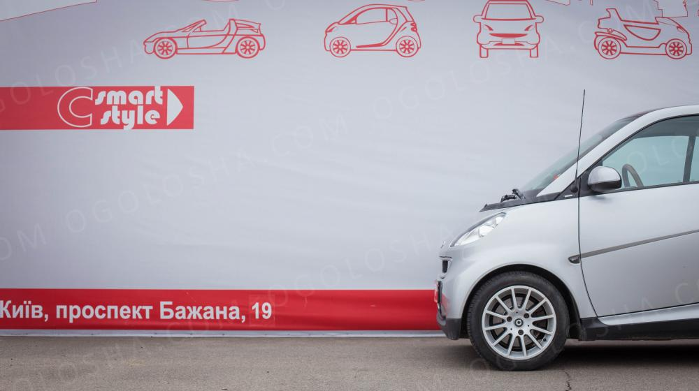 Smart Fortwo 451 Silver