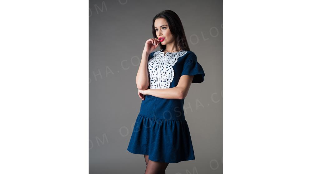 Оптовый производитель женской одежды VOKARI | Легкое кокетливое платье