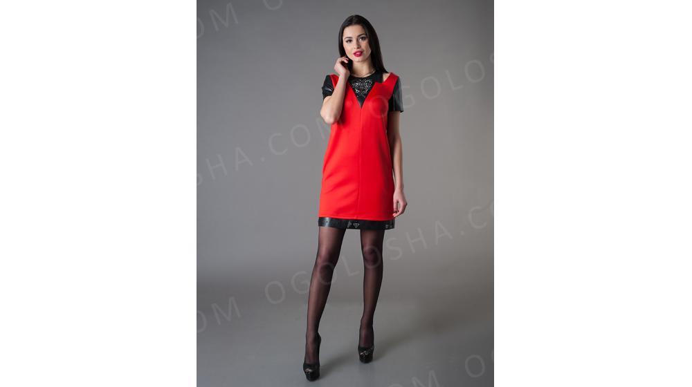 Оптовый производитель женской одежды VOKARI | Платье стильного покроя