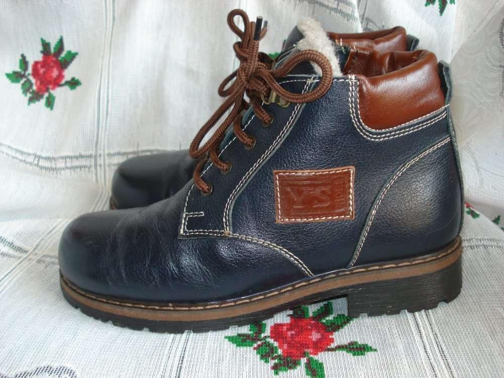 """Супер ботинки зимние,р.38,100%кожа"""",стелька-24см."""