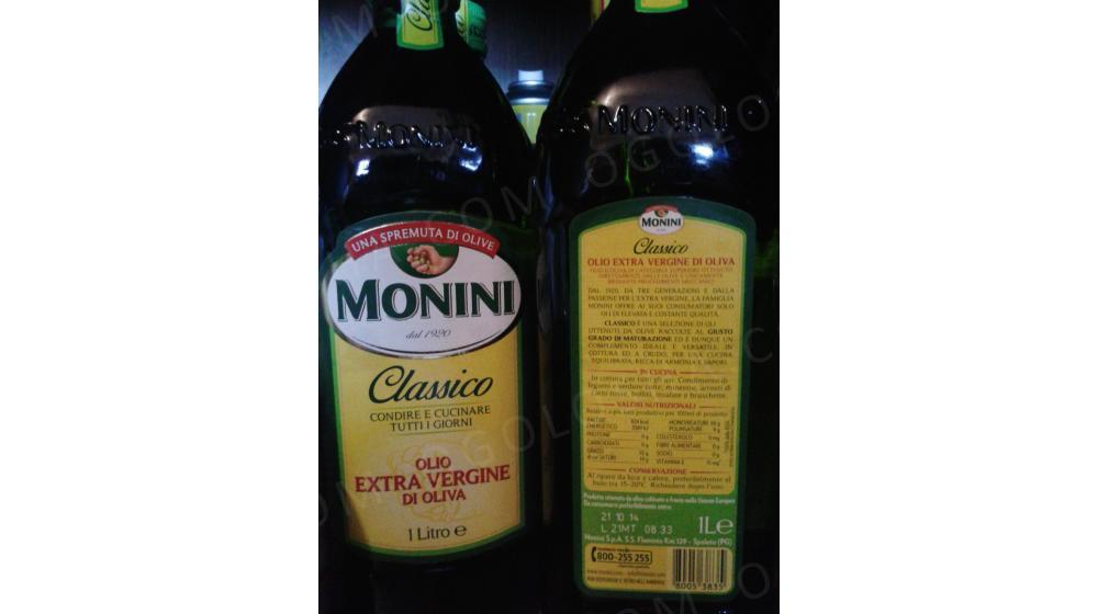 Оливковое масло Monini 1 л Первый холодный отжим.