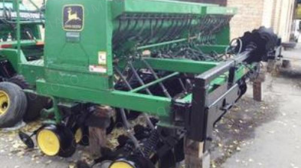 Сеялка. Сеялка зерновая механическая Джон Дир 750  4,6 м. Сеялка с мелкосемянкой.