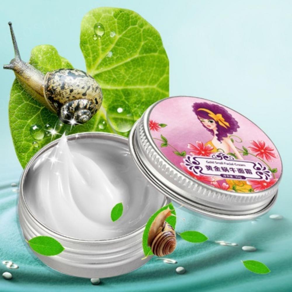 Легендарный Тайский крем SnailMe со слизью черной улитки