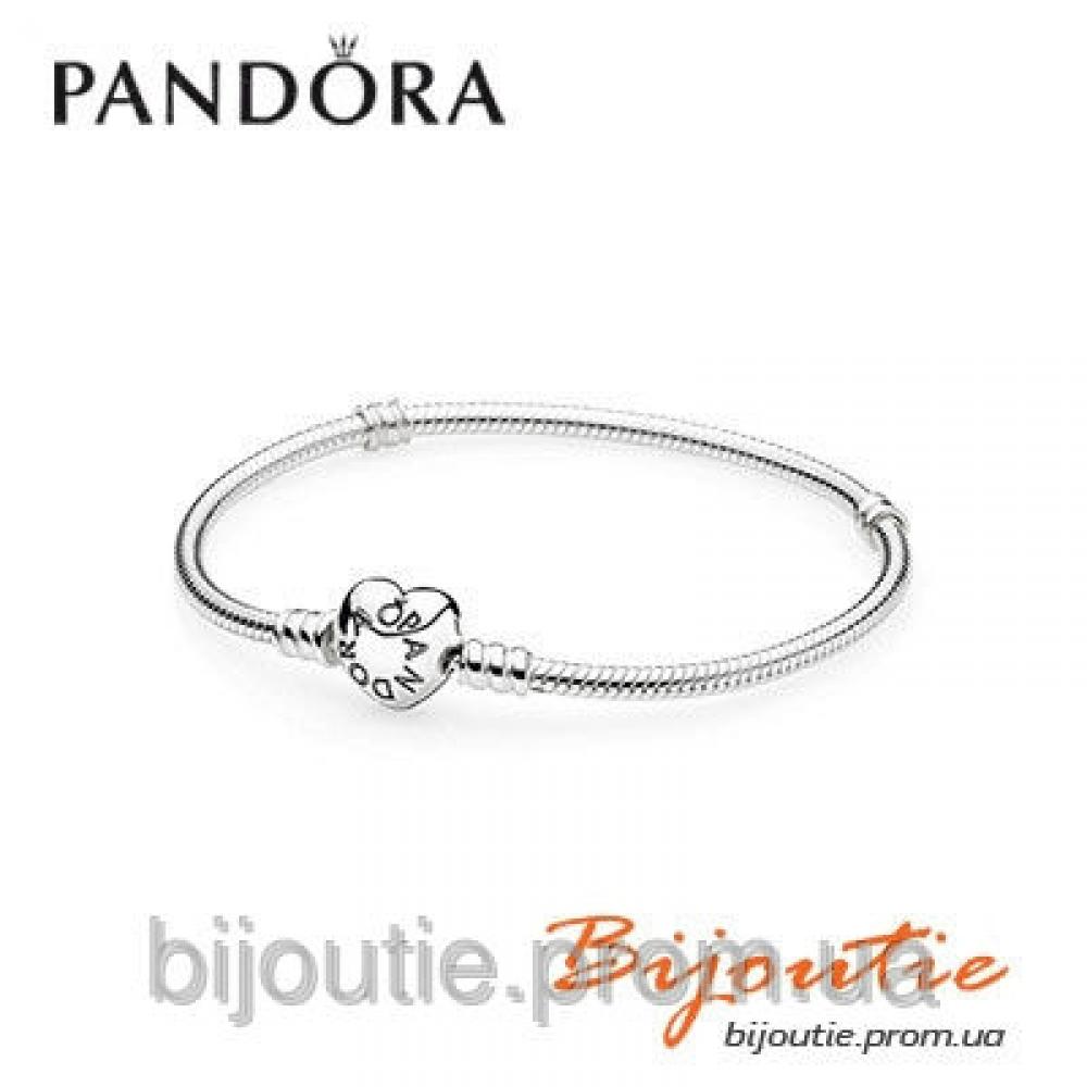 Pandora браслет Сердце 590719 серебро 925 Пандора оригинал