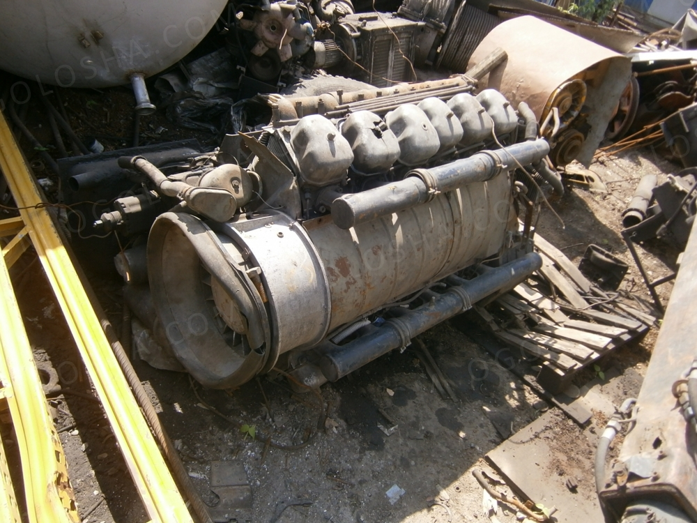 Двигатель на Татру