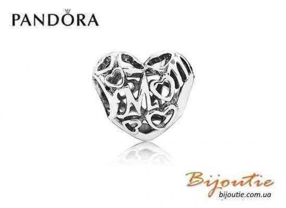 Pandora шарм МАТЕРИНСКАЯ ЛЮБОВЬ №791519 серебро 925 Пандора оригинал