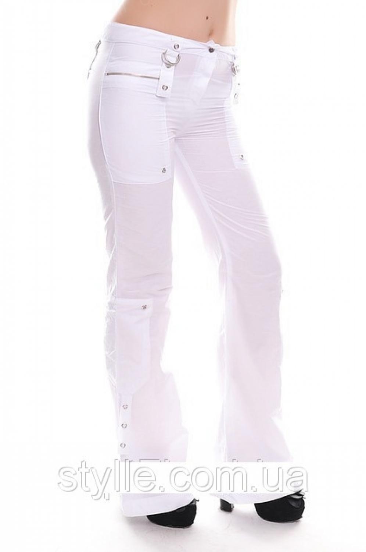 летние коттоновые брюки