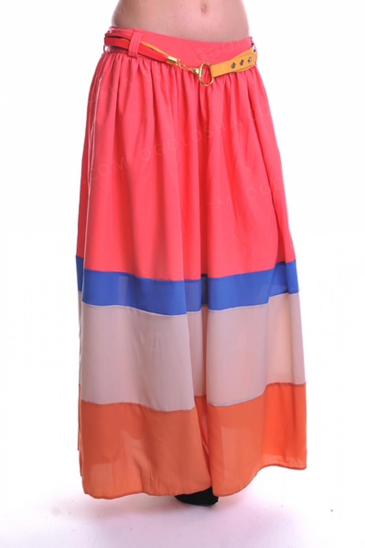 Модные макси-юбки