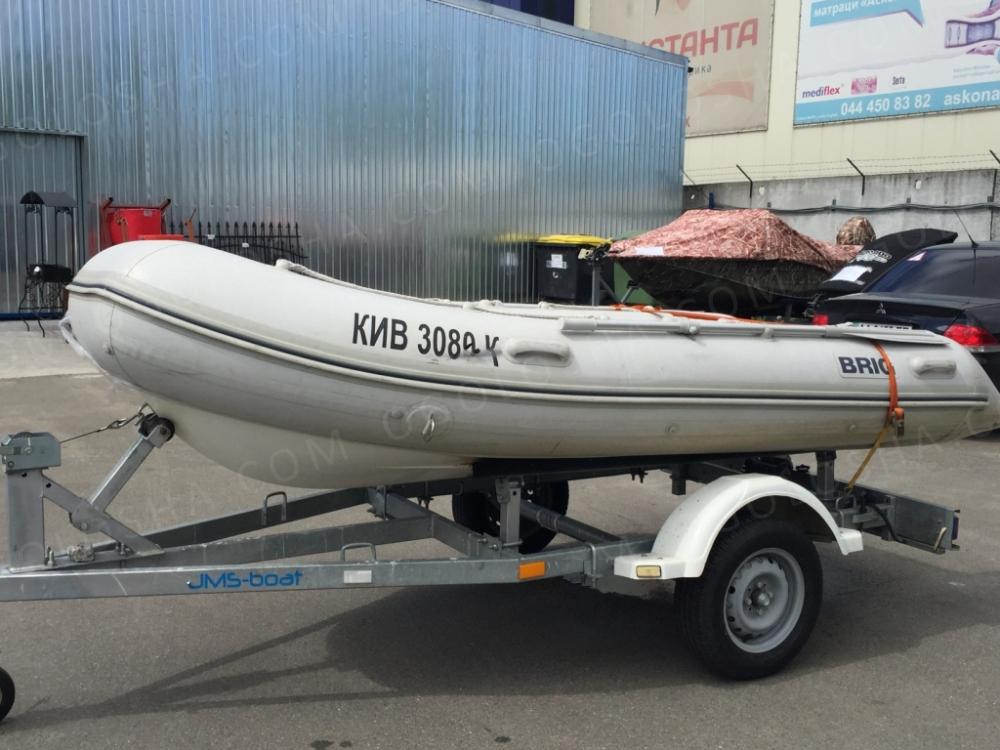 Продам лодку надувную Brig F 360