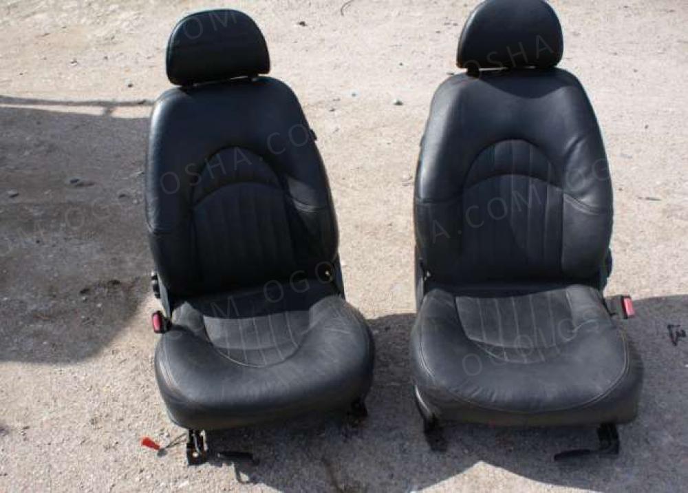 Кожаные сидения откидные ROVER