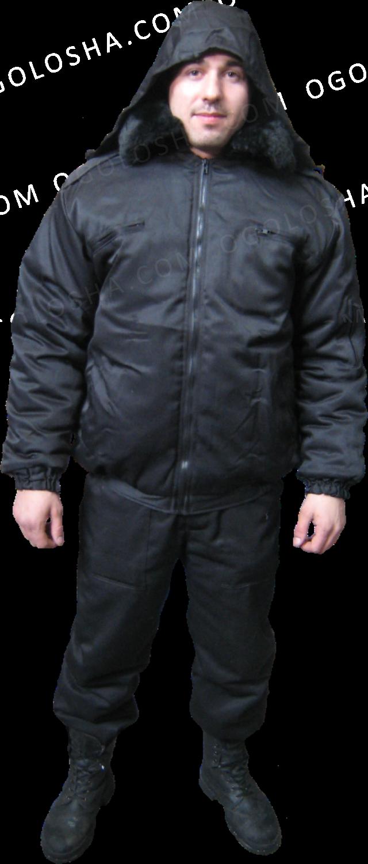 Куртка утепленная для охранника, продажа демисезонных костюмов