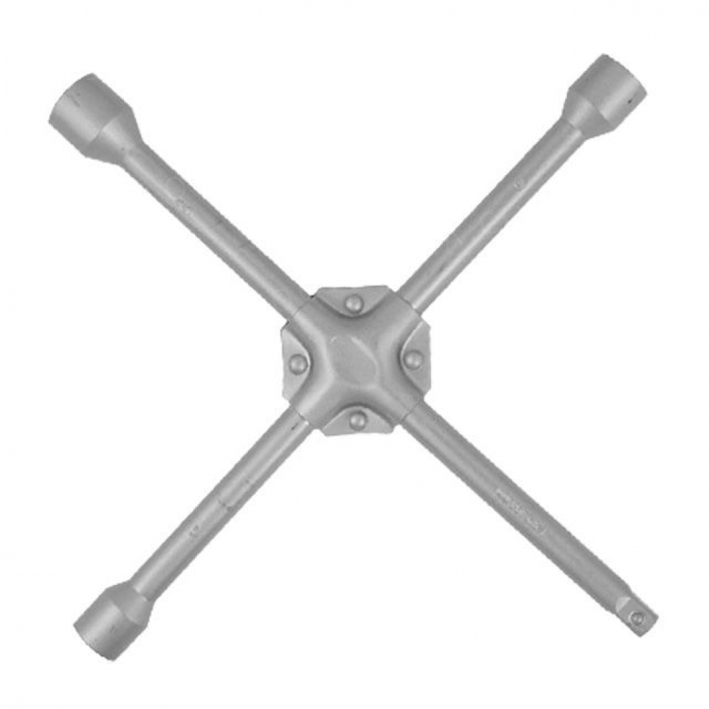 Ключ баллонный крестовой укрепленный 14*355мм, D=16 INTERTOOL HT-1604