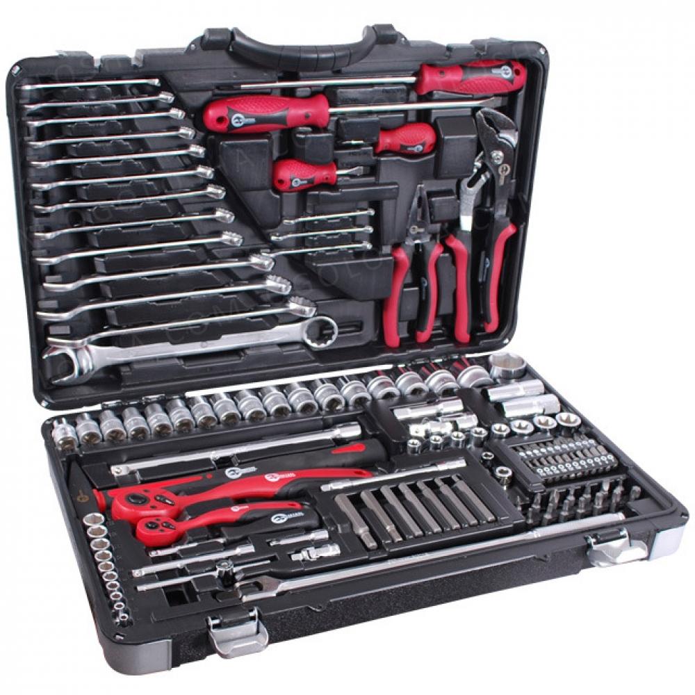 Профессиональный набор инструментов 1/4&1/2; 119ед INTERTOOL ET-7119