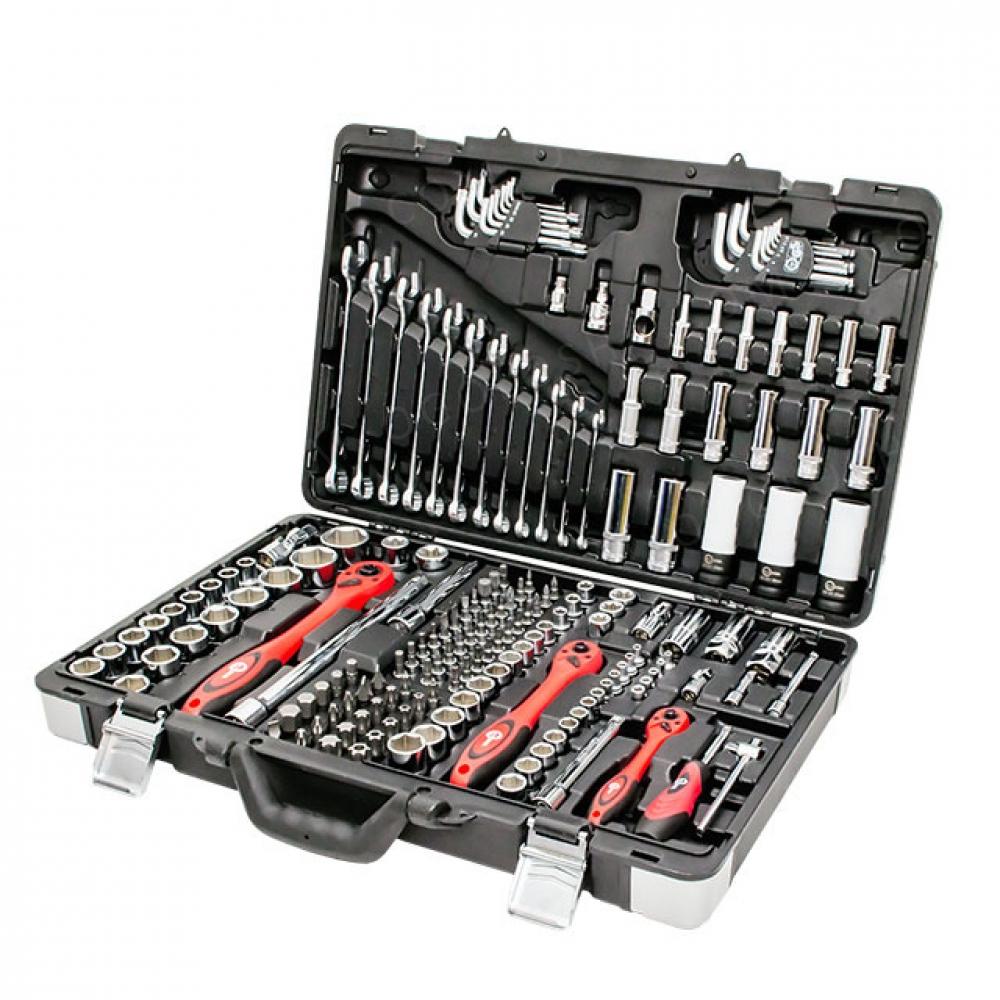 Профессиональный набор инструментов 1/4&3/8&1/2 1 INTERTOOL ET-7176