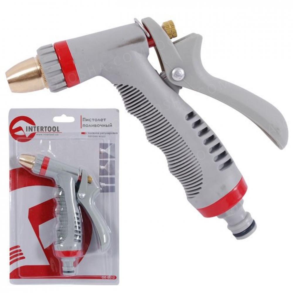 Пистолет-распылитель для полива с плавной регулировк INTERTOOL GE-0012