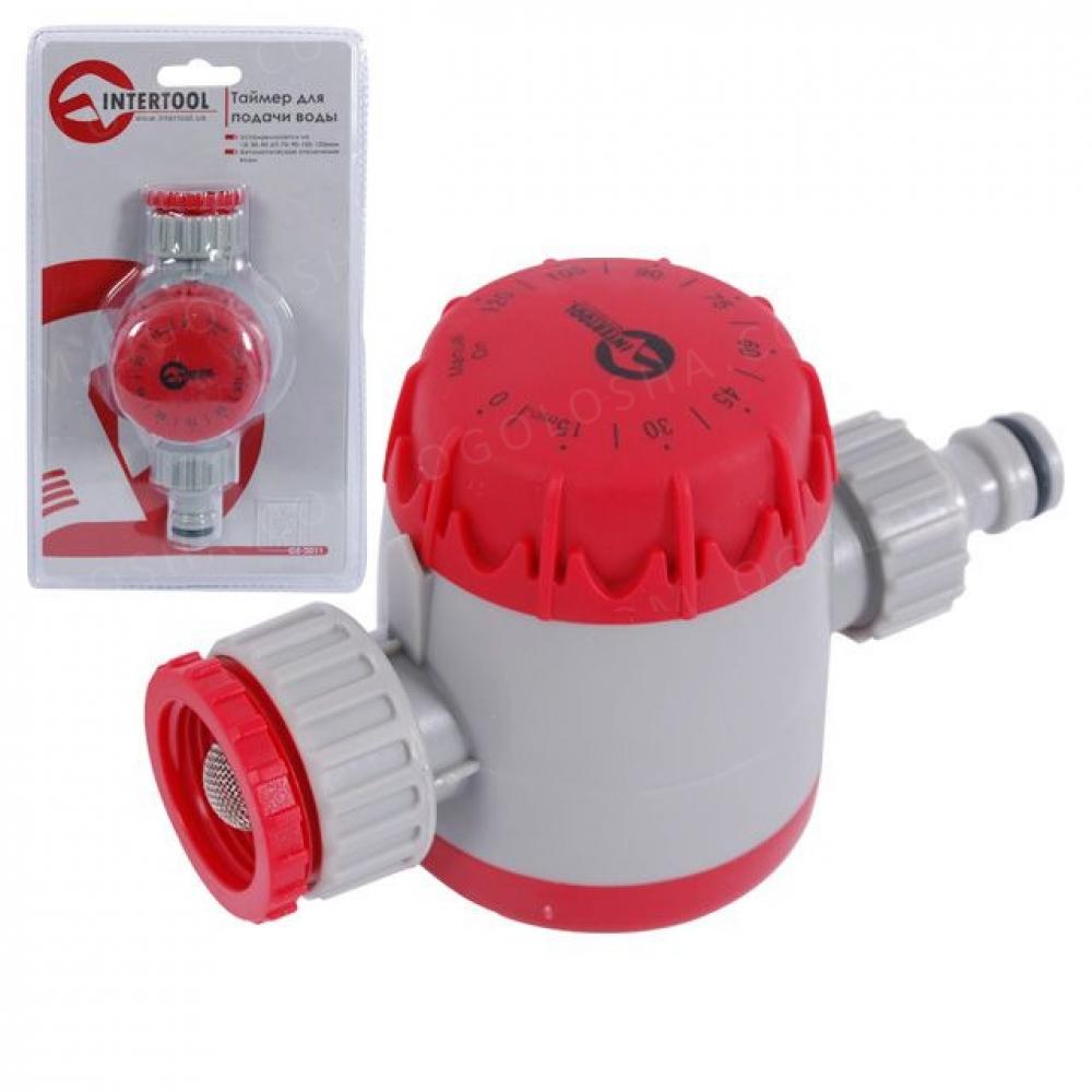 Таймер для подачи воды с сеточным фильтром, внутренн INTERTOOL GE-2011