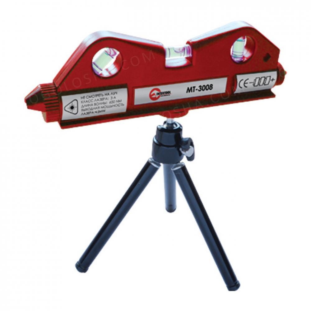 Уровень лазерный мини на штативе INTERTOOL MT-3008