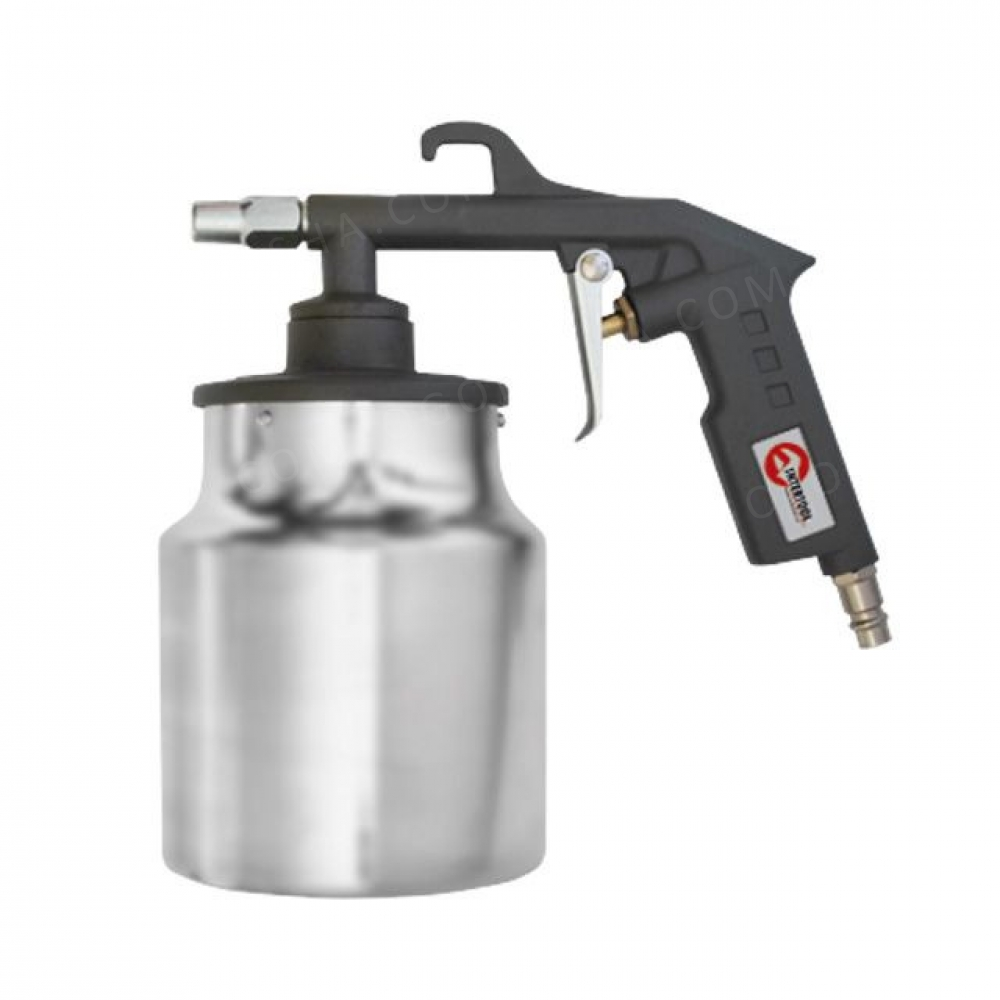 Пистолет пескоструйный пневматический, бачок INTERTOOL PT-0705