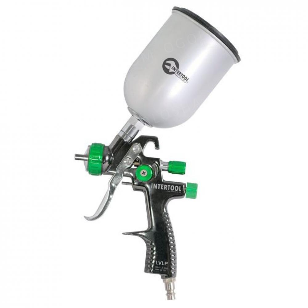 LVLP GREEN NEW Профессиональный краскораспылитель 1. INTERTOOL PT-0131