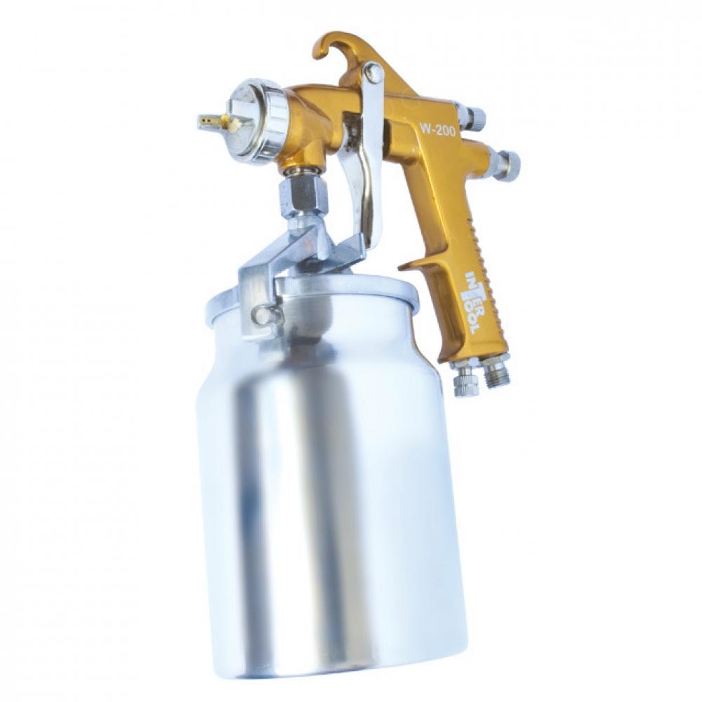 HP BRONZE PROF Краскораспылитель 1.5мм, нижний метал INTERTOOL PT-0221
