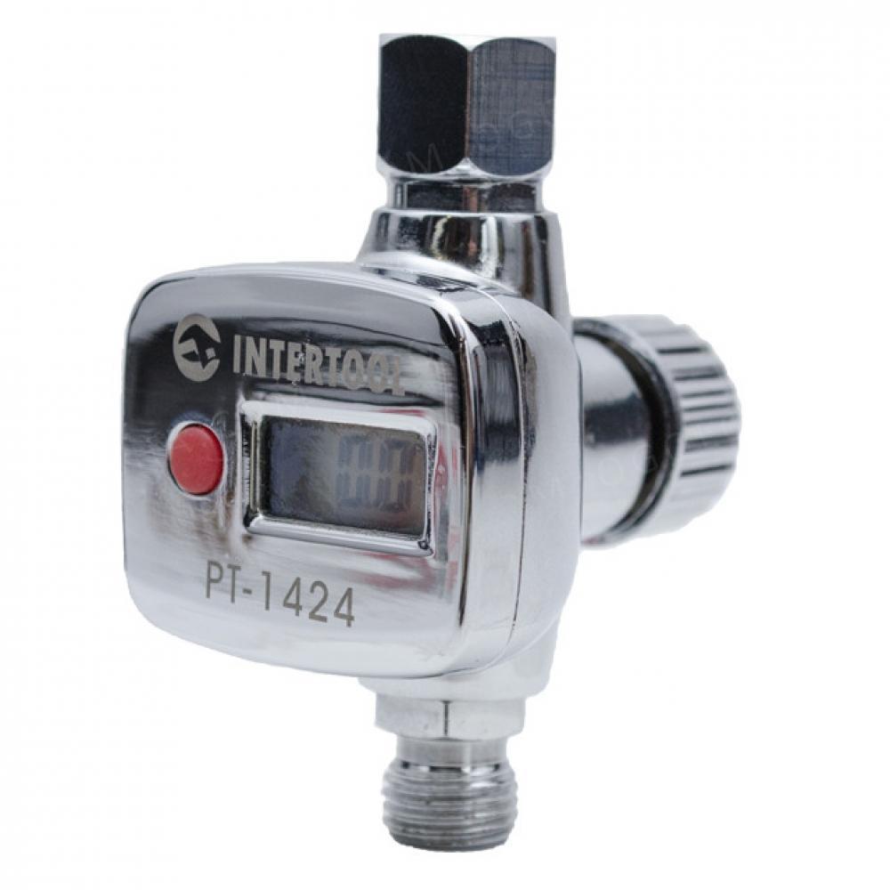 Регулятор давления с цифрововым манометром для писто INTERTOOL PT-1424