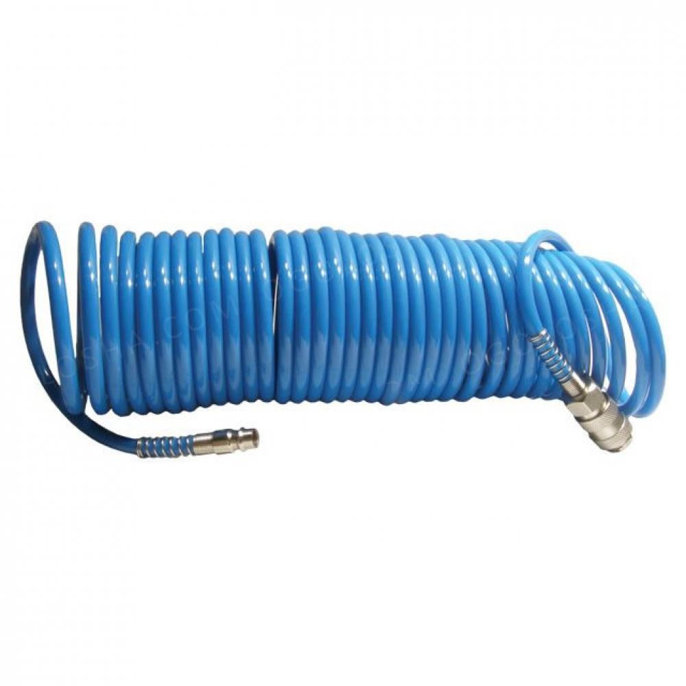 Шланг спиральный полиуретановый 5.5*8мм, 15м INTERTOOL PT-1708