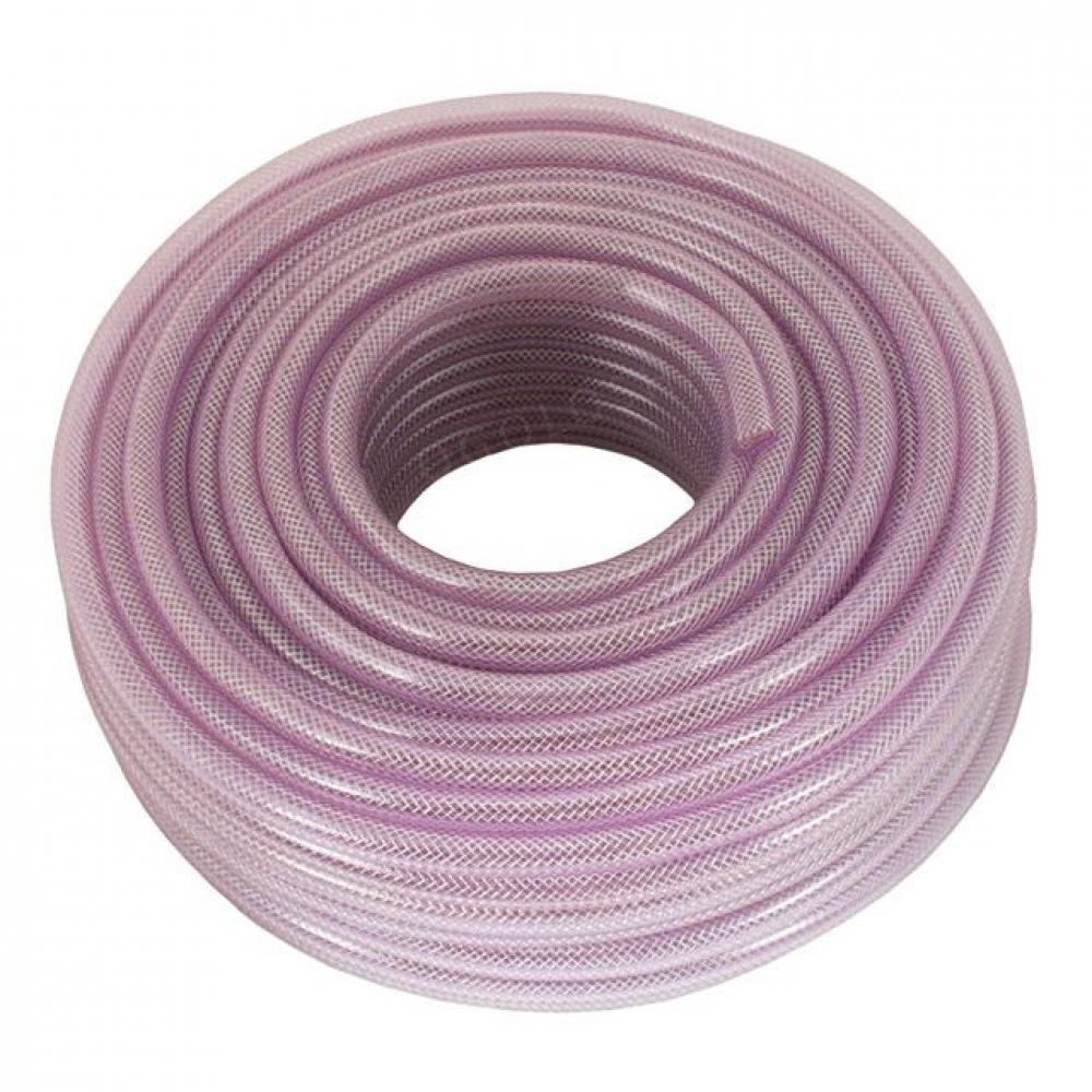 Шланг PVC высокого давления армированный 8мм*50м INTERTOOL PT-1741