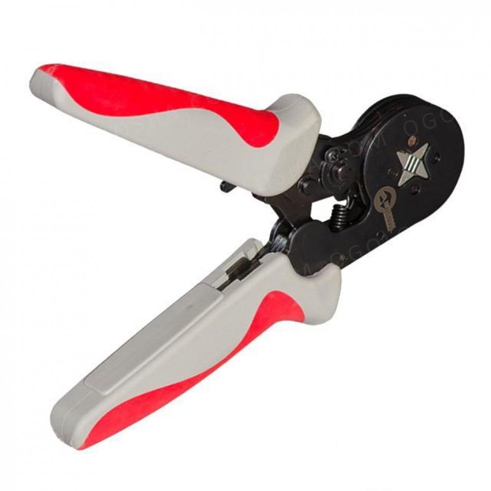 Инструмент для обжима наконечников 0.25-6мм INTERTOOL HT-7051