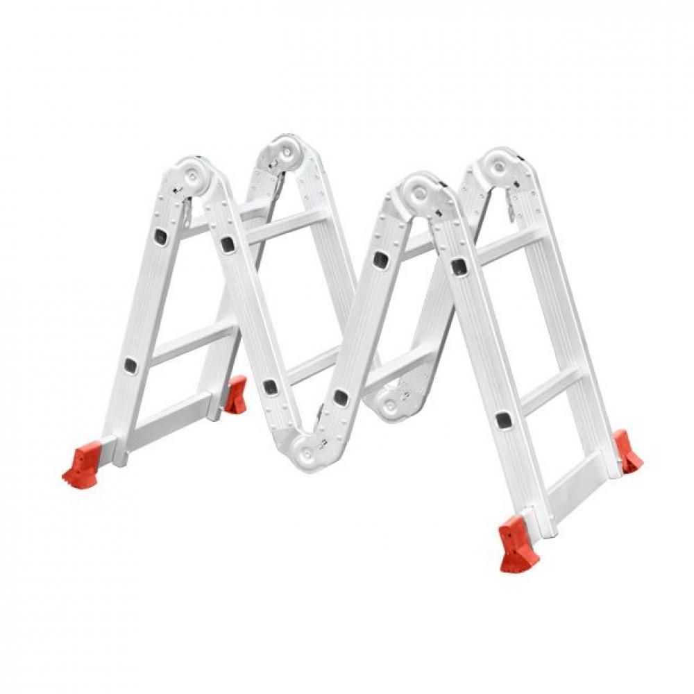 Лестница алюминиевая мультифункциональная трансформе INTERTOOL LT-0028