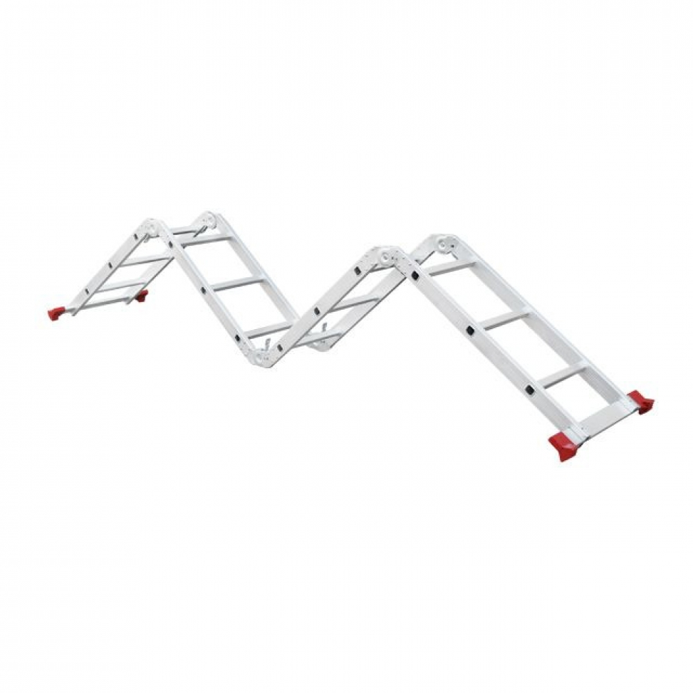 Лестница алюминиевая мультифункциональная трансформе INTERTOOL LT-0030