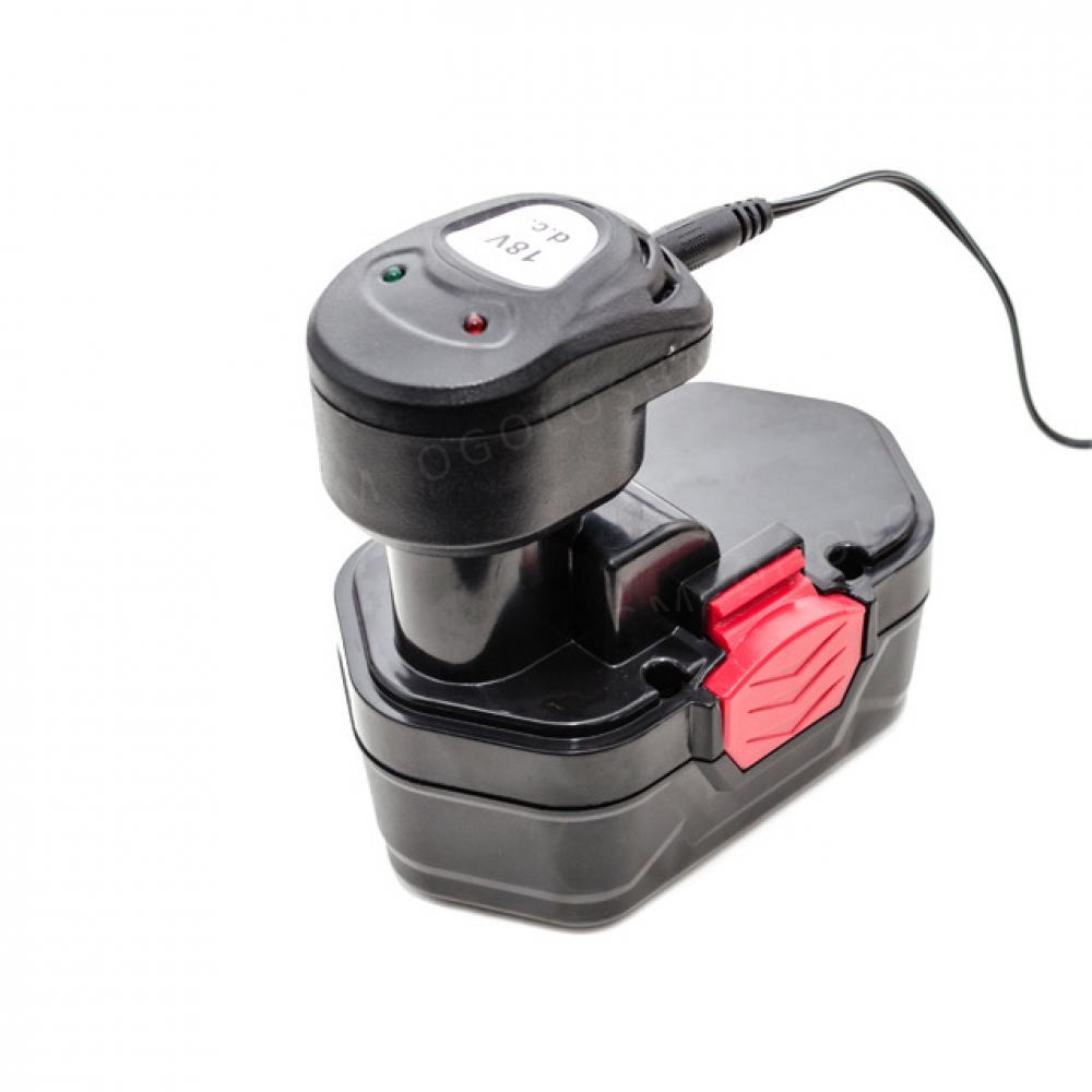 Шуруповерт аккумуляторный 18В 1 аккумулятор 1.2Ач 0- INTERTOOL DT-0312