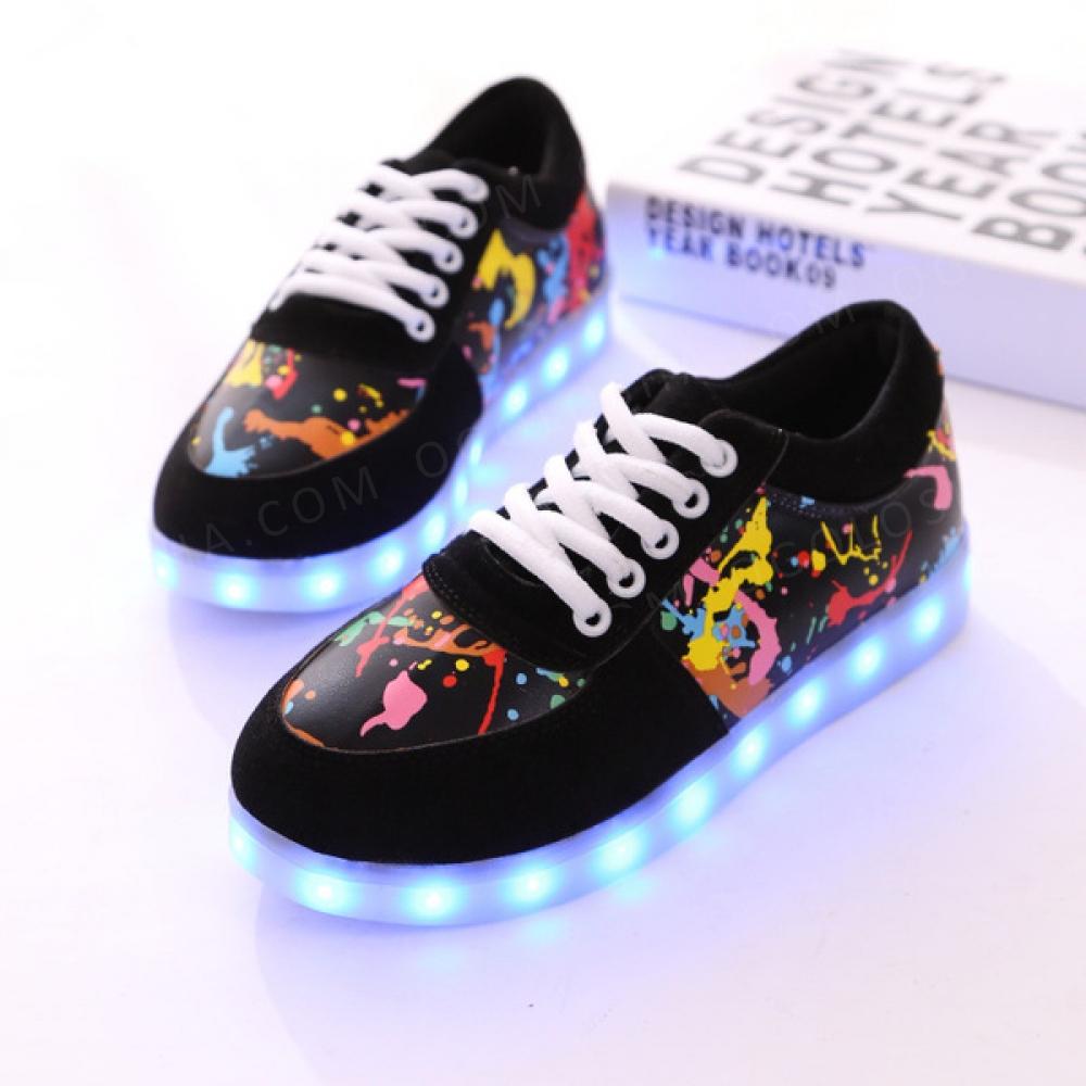 Led Кроссовки. Светящиеся кроссовки