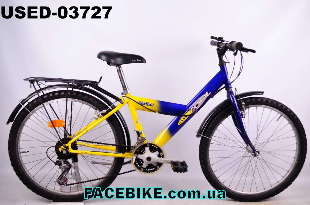 БУ Подростковый велосипед Bauer-Гарантия,Документы-у нас Большой выбор