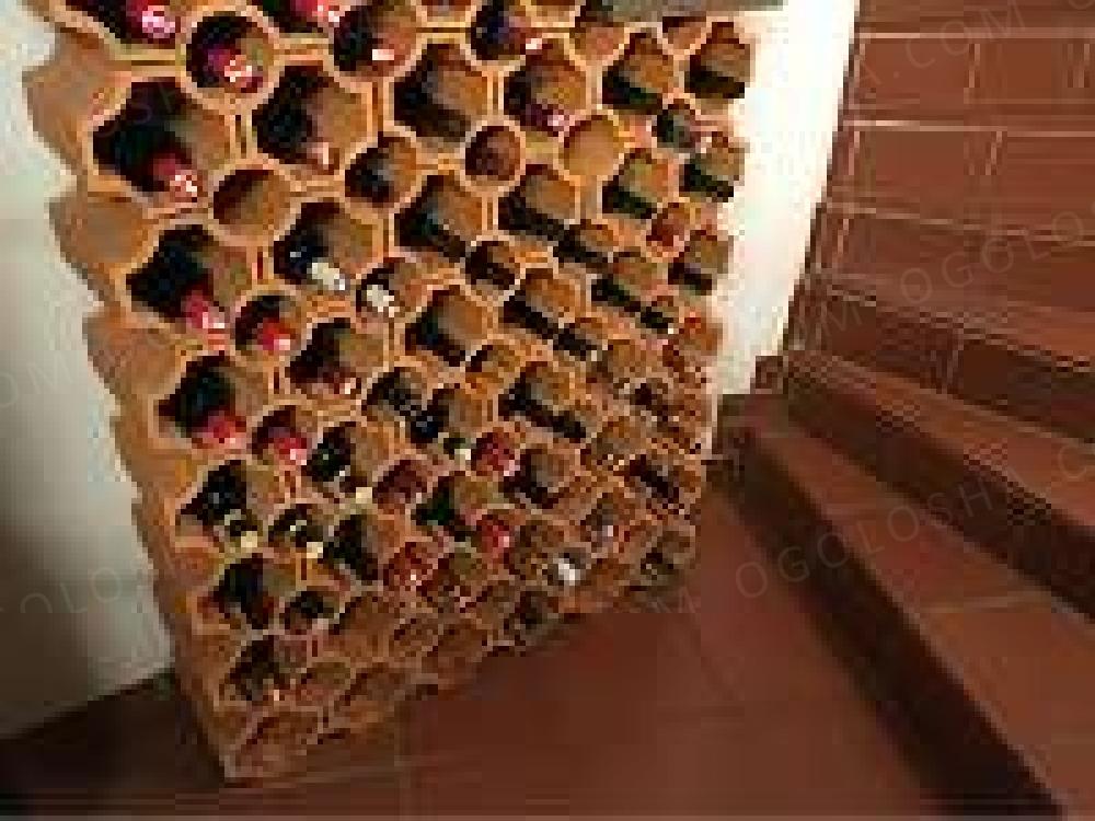Кирпич для хранения вина!