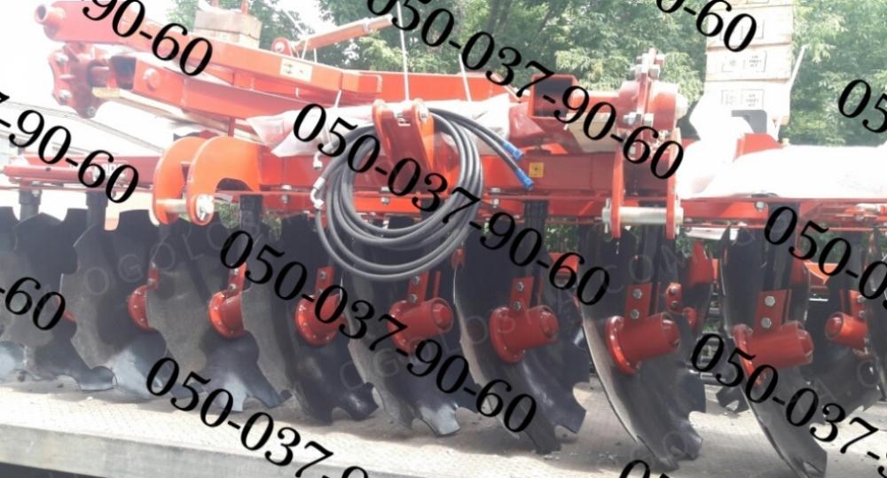 Pallada 3200-01 Паллада 3,2 полуприцепная дисковая борона+Шлейф-каток(диски 660мм) Полуприцепная заводская дисковая борона Паллада