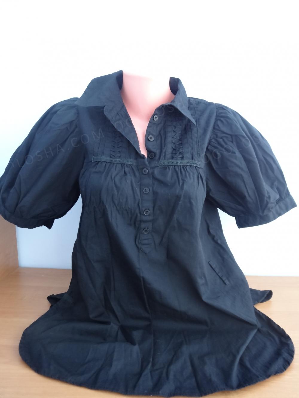 Брендовая шикарная блуза, плотный хлопок, М-ка