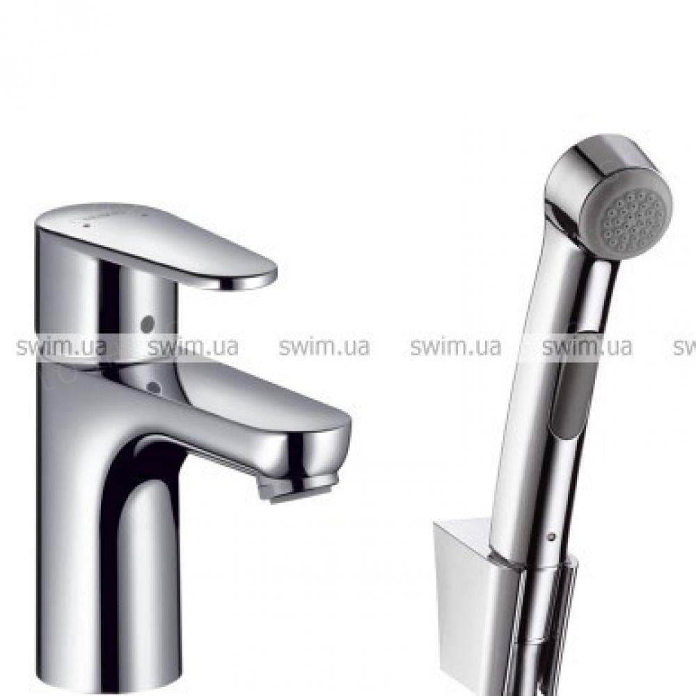 Смеситель для умывальника Hansgrohe Talis E 2 31165000 с гигиеническим душем