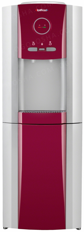 Напольный кулер HotFrost V730CES Red