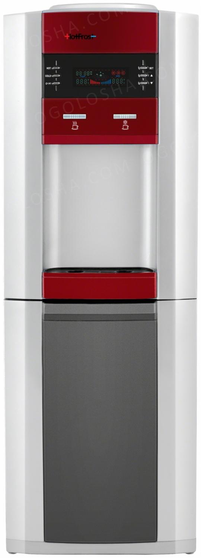 Напольный кулер HotFrost V745CST Red