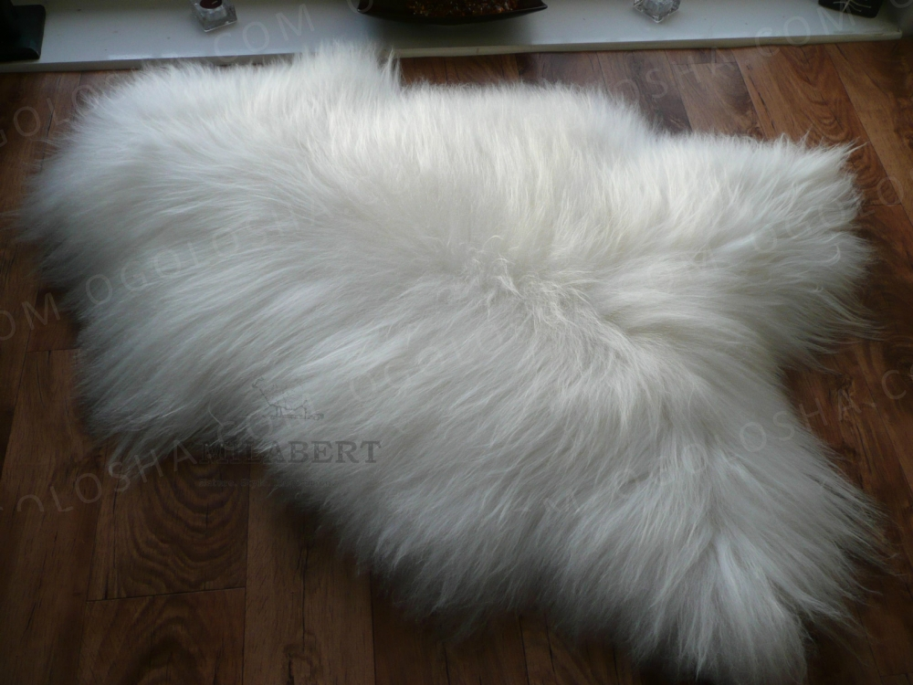 шкура овечья с длинным ворсом