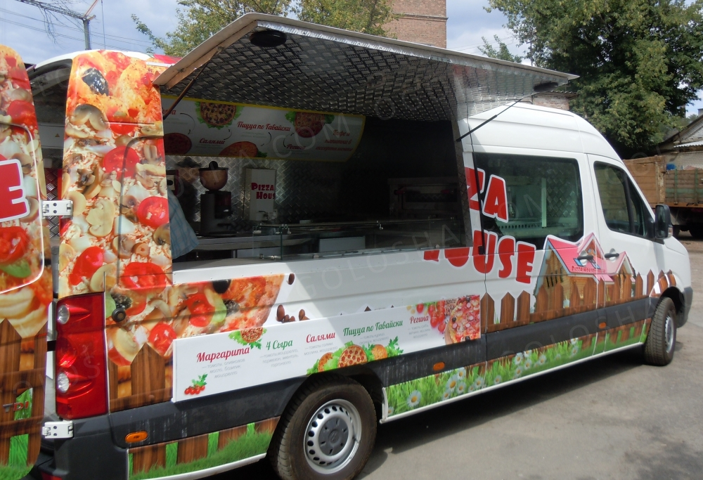 Кухня на колесах (food truck) фаст фуд, фуд-трак
