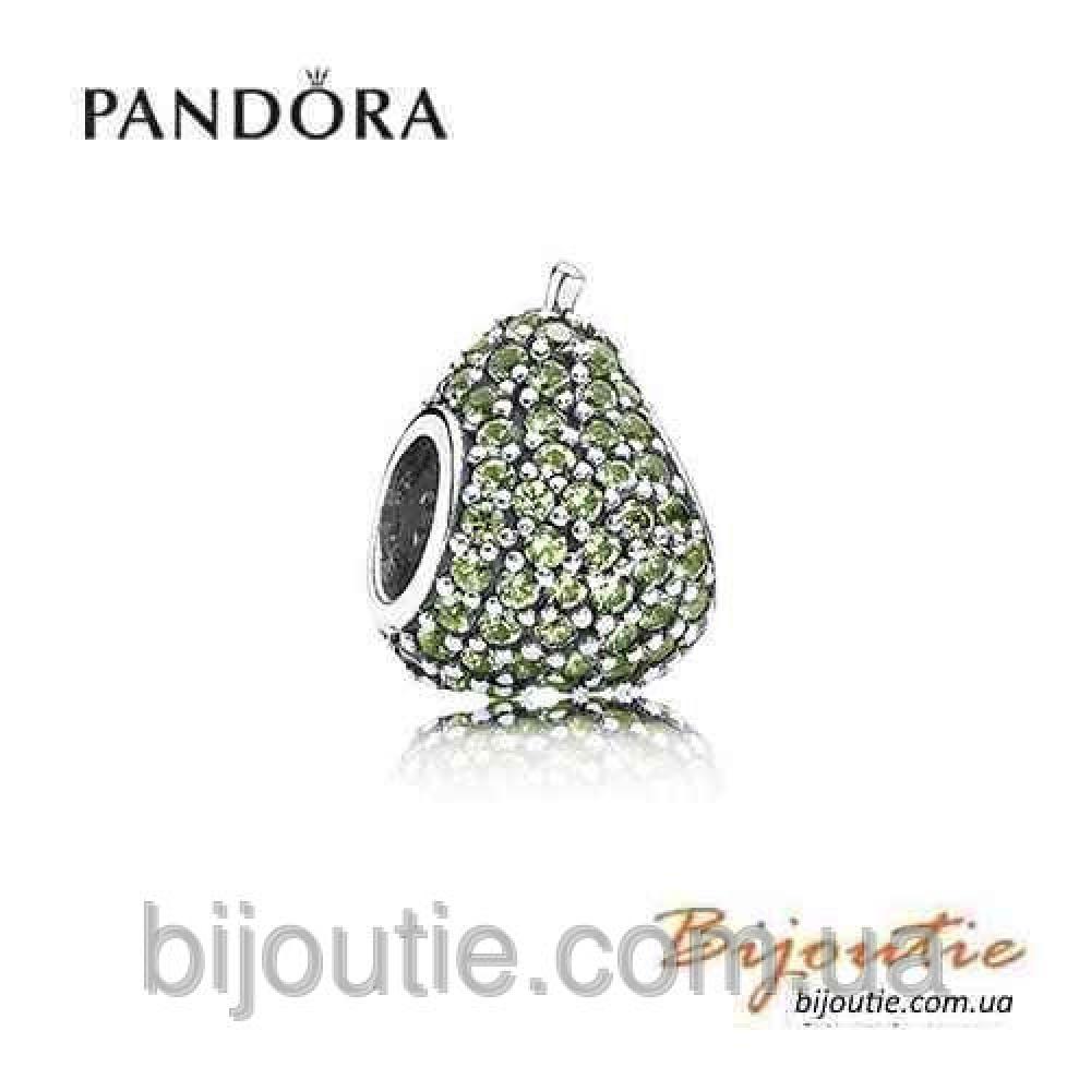 PANDORA шарм ГРУША №791486NLG серебро 925 Пандора оригинал