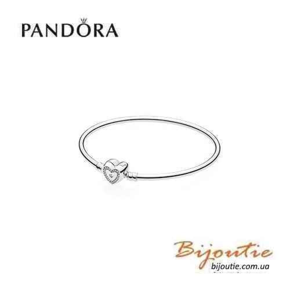 Pandora браслет СЕМЬЯ НАВСЕГДА 590729CZ серебро 925 Пандора оригинал